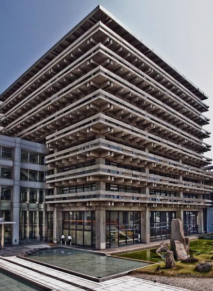 Adm. building, T. Kenzo, Takamatsu, 2010